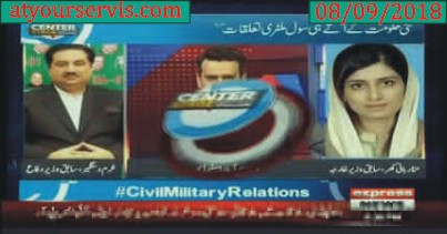 08 Sep 2018 - Civil Military Relations