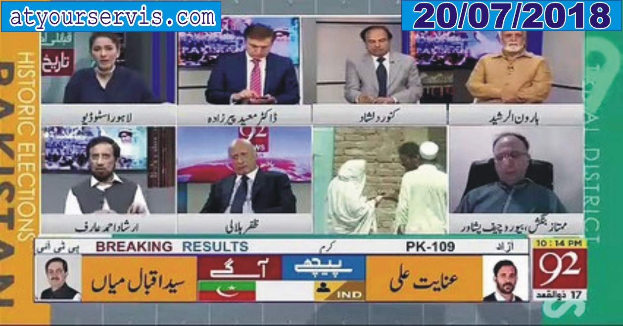 20 Jul 2019 - FATA Elections Special) [Part-1